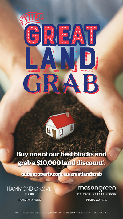 Great Land Grab Pop-up